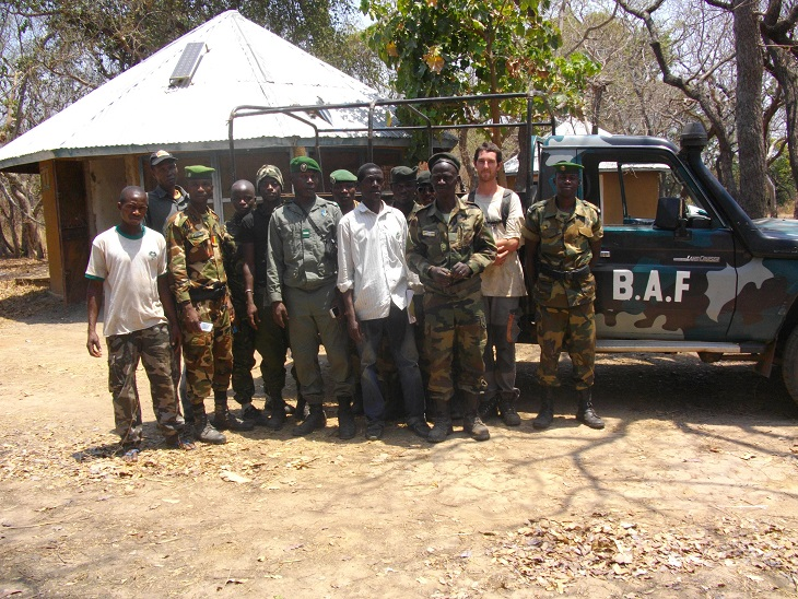 team 3 resized 1 Crucial support for the protection of the Haut Niger National Park
