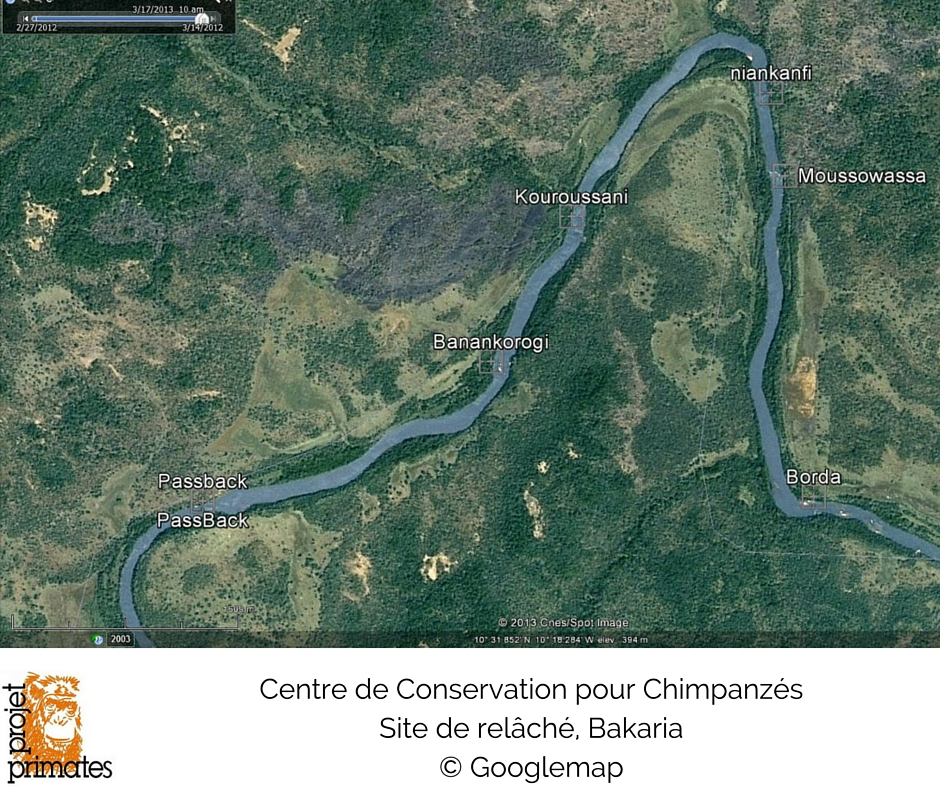 Bakaria map FR