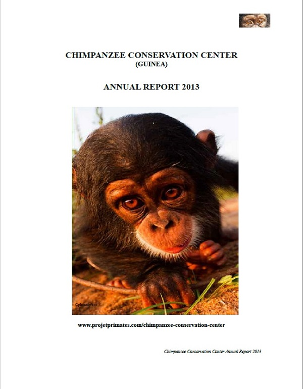 Chimpanzee Conservation Center 2013 Annual Report