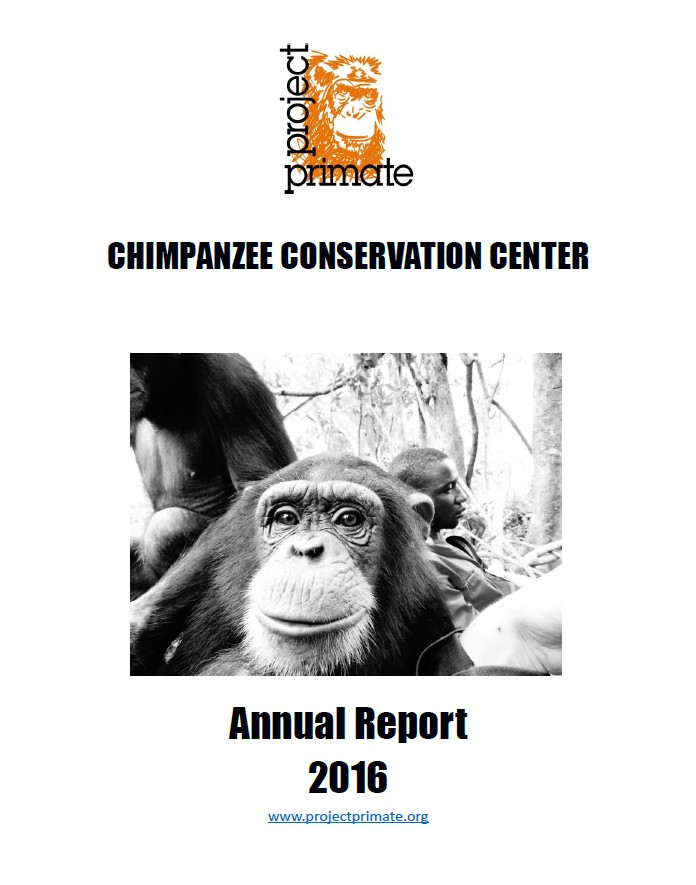 Chimpanzee Conservation Center 2016 Annual Report