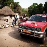 Approvisionnement en fruits dans les villages voisins / Fruit supply in neighboring villages