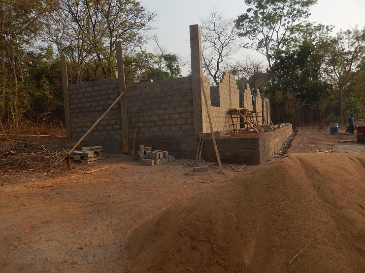 Le chantier a fier allure! ©M. Laurans