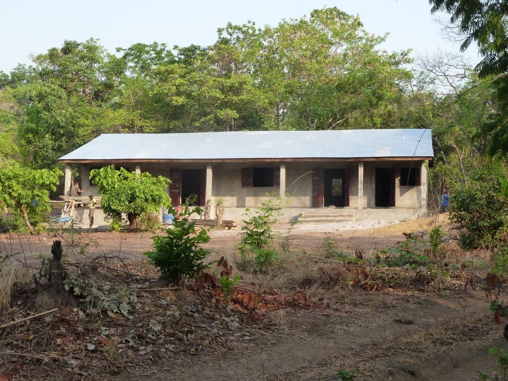 L'école de Sambouya est montée © M Laurans