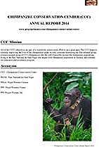 Chimpanzee Conservation Center 2014 Annual Report